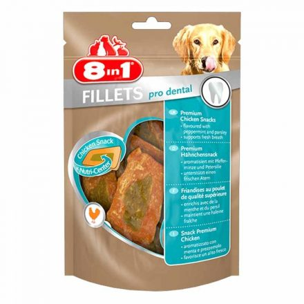 8In1 Fillet Pro Dental Jutalomfalat Kutyáknak