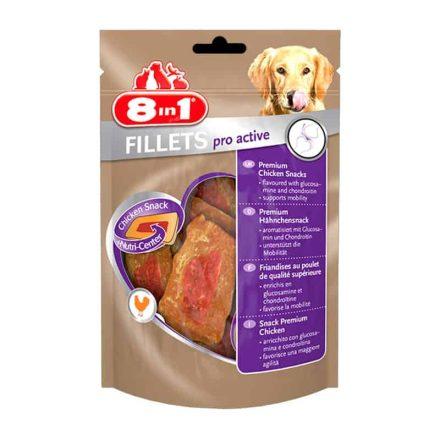 8In1 Fillet Pro Active Jutalomfalat Kutyáknak