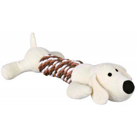 Trixie Kutyajáték Plüss Kutya Kötéllel  1 Db/Csomag