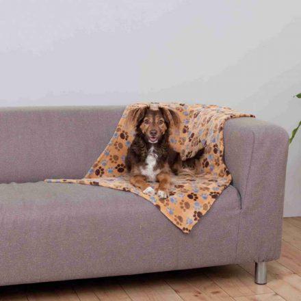 Trixie Laslo Blanket Pléd Bézs Mintás  100 X 70 Cm