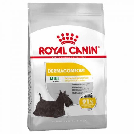 Royal Canin Kutyatáp Mini Dermacomfort  1Kg