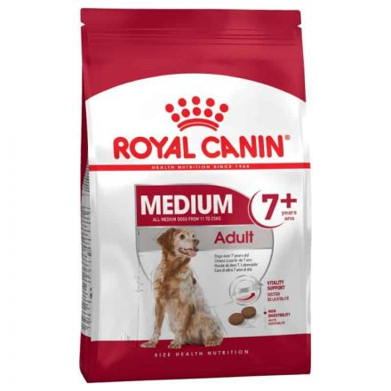 Royal Canin Kutyatáp Medium Adult 7+  4Kg