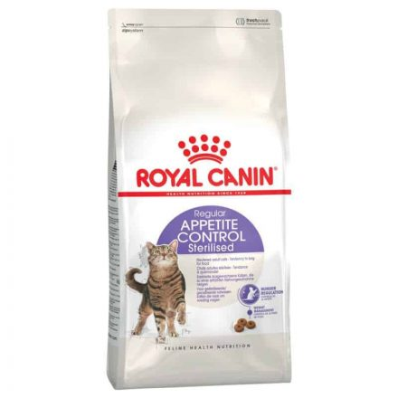 Royal Canin Cicatáp Sterilised Appetite Control  4Kg
