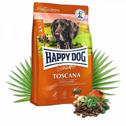 Happy Dog Kutyatáp Sensible Toscana Kacsa+Lazac  1Kg