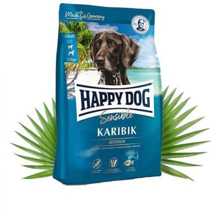 Happy Dog Kutyatáp Sensible Karibik Tengeri Hal  4Kg