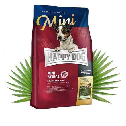 Happy Dog Kutyatáp Mini Africa  4Kg