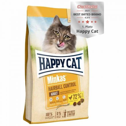Happy Cat Cicatáp Minkas Adult Hairball Control  1,5Kg
