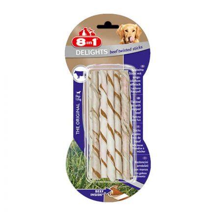 8In1 Delight Sticks Beef Jutalomfalat Kutyáknak