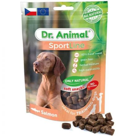 Dr. Animal Sportline Jutalomfalat Lazacos Hipoallergén  100G