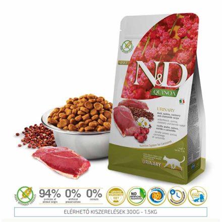 N&D Cicatáp  Quinoa Urinary Kacsa  1,5Kg