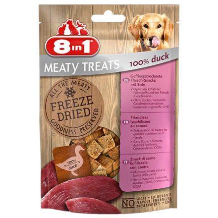 8In1 Jutalomfalat Meaty Treats 100% Duck