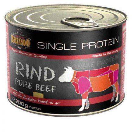 Belcando Kutyakonzerv Single Protein Marhahusos  200G