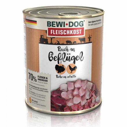 Bewi-Dog Kutyakonzerv Színhús Baromfiban Gazdag  800G