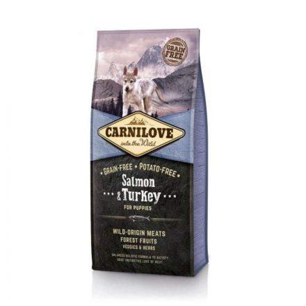 Carnilove Kutyatáp Puppy Salmon & Turkey  12Kg