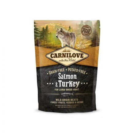 Carnilove Kutyatáp Adult Large Salmon & Turkey  1,5Kg
