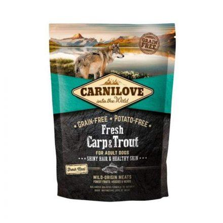 Carnilove Kutyatáp Fresh Adult Ponty & Pisztráng Healthy Skin  1,5Kg