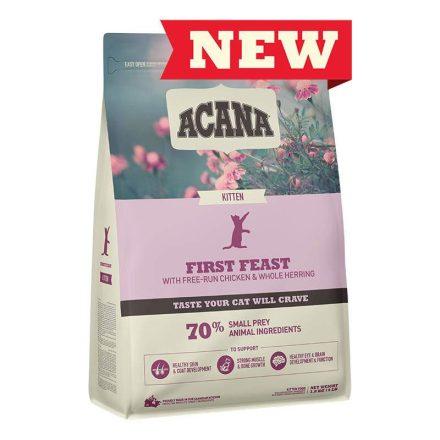 Acana Cicatáp First Feast Kitten  1,8Kg