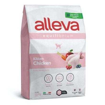 Alleva Equilibrium Cicatáp Kitten Chicken  1,5Kg