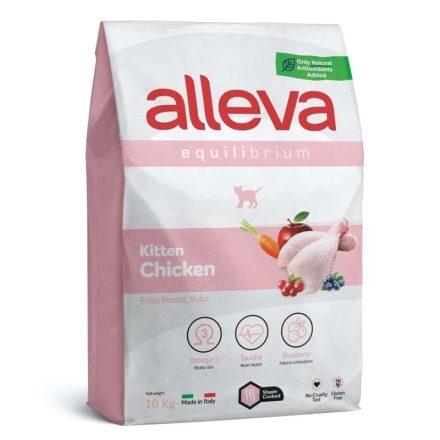Alleva Equilibrium Cicatáp Kitten Chicken  10Kg