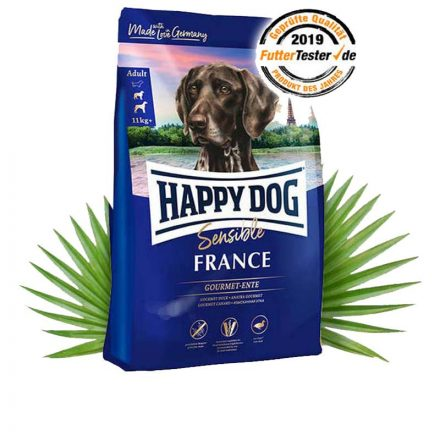 Happy Dog Kutyatáp Sensible France Ínyenc Kacsa  12,5Kg