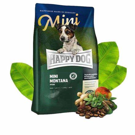 Happy Dog Kutyatáp Sensible Montana Lóhússal  4Kg