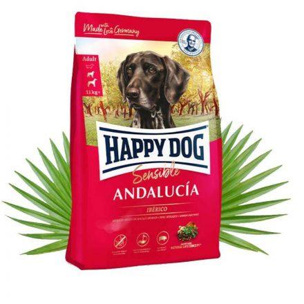 Happy Dog Kutyatáp Sensible Andalucia Iberico Sertés  4Kg