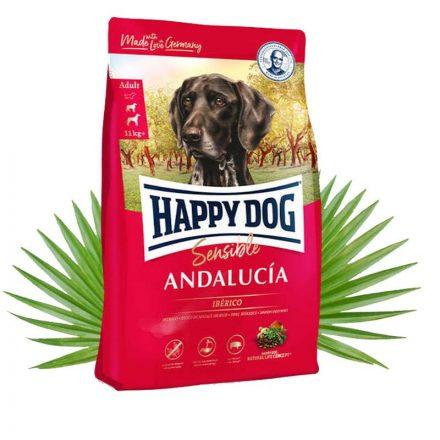 Happy Dog Kutyatáp Sensible Andalucia Iberico Sertés  11Kg