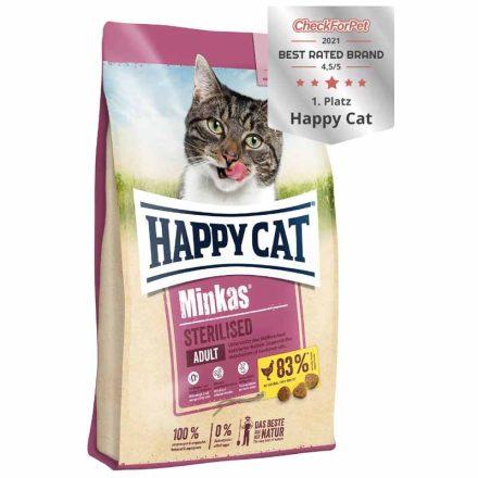 Happy Cat Cicatáp Minkas Adult Sterilised  10Kg